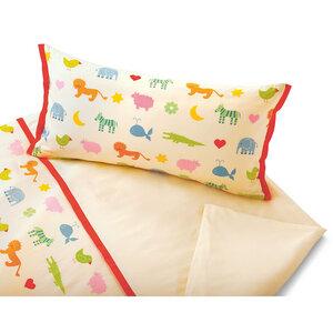 Satin Kinderbettwäsche Arche Noah - Cotonea