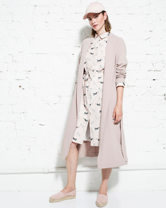 Poplin shirt dress - wild cat  - Wunderwerk