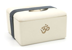 Bambus Lunchbox 'Om' von freakulized - freakulized