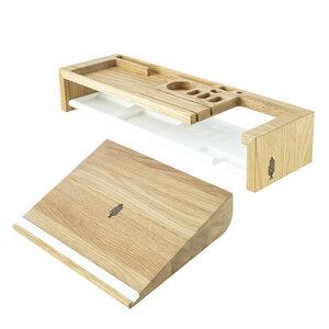 Büro Set, Schreibtisch Organizer | Büroablage, Ordnung | Holzbutiq - Holzbutiq