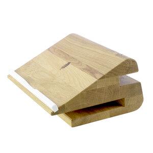 Desk Organizer stando, Laptop Stand | Apple Macbook Ständer aus Holz - Holzbutiq
