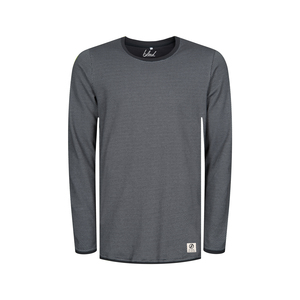 Honeycombed Sweater Grau - bleed