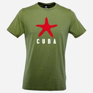 Cuba Star Herren T-Shirt kale green - Lexi&Bö