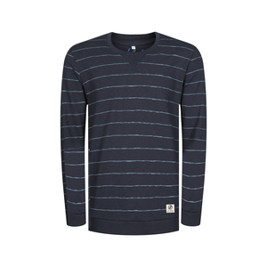 Striped Sweater Navy - bleed