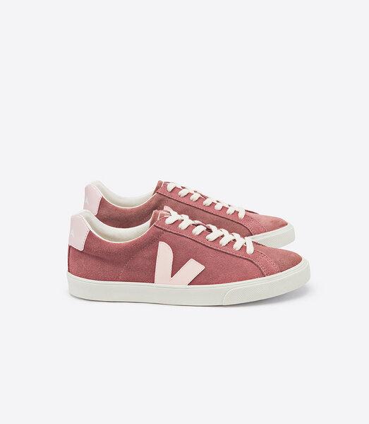 Sneaker Damen Esplar Low Logo Suede Dried Petal Petale