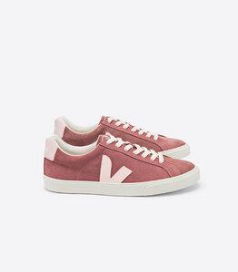 Sneaker  Damen - ESPLAR LOW LOGO SUEDE - DRIED PETAL PETALE - Veja