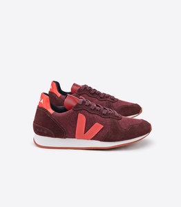 Sneaker - HOLIDAY LOW TOP PIXEL - BURGUNDY ORANGE FLUO - Veja