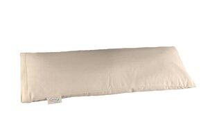 Wollkügelchen mit Kautschuk im Kniekissen - Speltex
