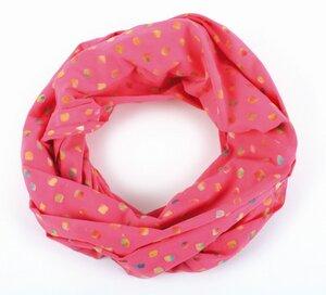 Loop-Schal - 100% Baumwolle, bubble-print, 50x 160cm - El Puente