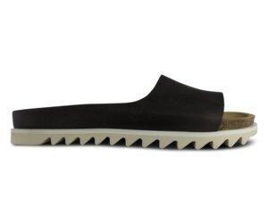 Palm Sandal Dark Brown Leather - ekn footwear