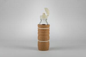 Trinkflasche THANK YOU 0,3 Liter hitzebeständig neu mit Deckel aus Biokunststoff - Nature´s Design