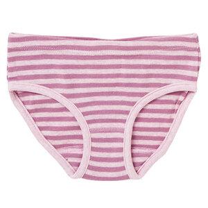 Mädchen Slip - rosa geringelt - People Wear Organic