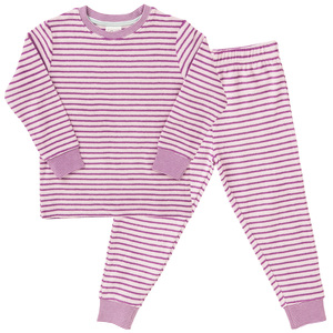 Frottee Pyjama - rosa - People Wear Organic