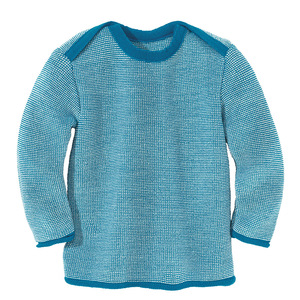 Baby Melange-Pullover - Disana