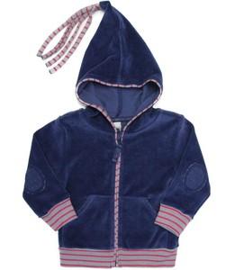 Baby Kinder Nicky Kapuzenjacke Bio-Baumwolle Jacke 5 Farben - Leela Cotton