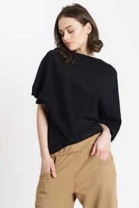 SUSAN DRAPED BLOUSE - SHIPSHEIP