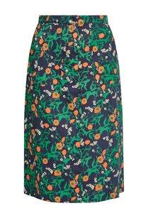 Thandie Marigold Print Skirt - People Tree