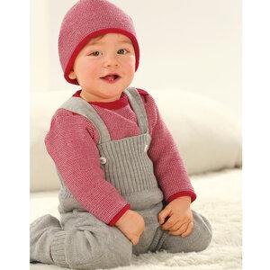 Baby Strick-Trägerhose - Disana