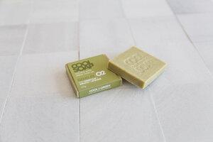 "Handgemachte Naturseife ""Grüne Tonerde, Spinat und Lavendel"" - The Cool Projects"