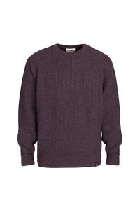 Men's Essential Everyday Sweater - Bordeaux/Blue - Blue LOOP Originals