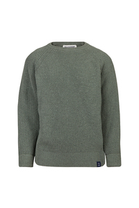 Women's Essential Everyday Sweater - Khaki - Blue LOOP Originals