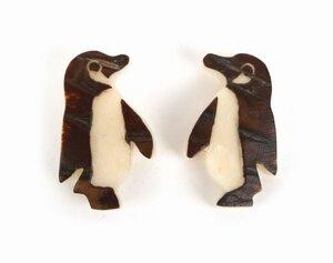 Ohrstecker 'Pinguin' - El Puente