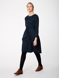 Kleid - DITSY IKAT DRESS - Dark Navy - Thought | Braintree