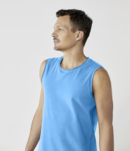 Organic Mens Yoga Tank Top - Lotuscrafts