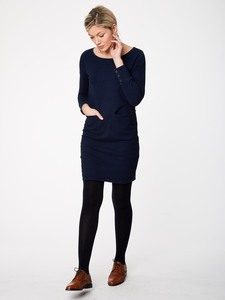 Kleid - LAUREL DRESS - Navy - Thought | Braintree