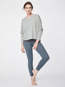 Leggings - Micro Stripe - Blau - Thought | Braintree