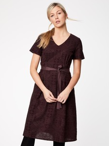 Kleid - ARTINA ADRESS - Aubergine - Thought | Braintree