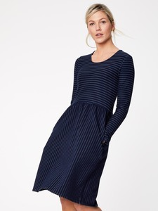 Kleid - WISSETT DRESS -Navy - Thought | Braintree