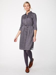 Kleid - PAINTERS DRESS - Slate Grey - Thought | Braintree