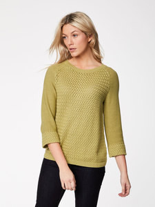 Strickpullover - HALLY JUMPER - Moss - Thought | Braintree