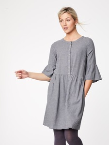 Kleid - DELFY DRESS - Slate Grey - Thought | Braintree