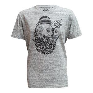 "Men T-Shirt ""Pfeifenraucher"" - DISKO"