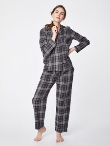 Pyjama - CHENA PJ'S - Yarn Dye Check - Thought | Braintree