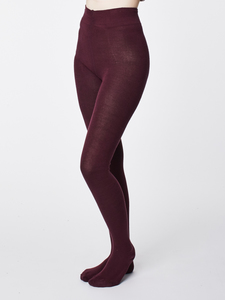 Strumpfhose - ELGIN TIGHTS - Aubergine - Thought | Braintree