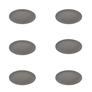 Bambus Teller 6er-Set – BPA-frei, lebensmittelecht & stabil - pandoo