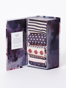 Sockenbox - SPOT & STRIPE SOCK BOX - Thought | Braintree