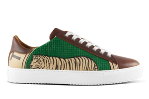 Low Sneaker - Green Tiger - Elephbo