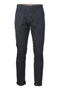 Twisted Twill Chino Total Eclipse - KnowledgeCotton Apparel