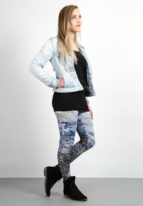 Leggins Crushed Ice - Die rote Zora