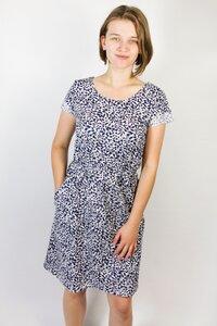 Bio Kleid 'Somrig' Lorbeer blau - Frija Omina