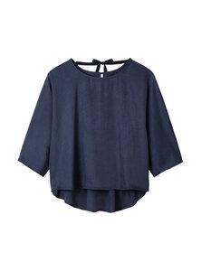Bluse - Batwing Top - Blau - STUDIO JUX