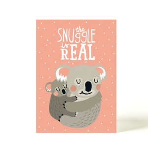 Postkarte Koala - käselotti