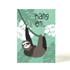 Postkarte Faultier - käselotti