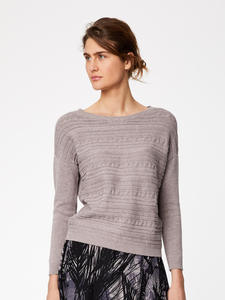 Strickpullover - ELIZABETH JUMPER - grau - Thought | Braintree