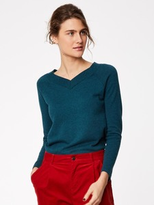 Strickpullover - KATHLEEN JUMPER - Petrol - Thought | Braintree