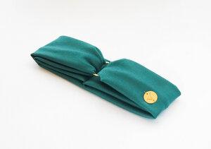 AMBER SLIM - 3in1 Stirnband - Turquoise - dreisechzig